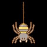 クモのイラスト