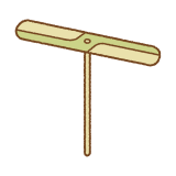 竹とんぼのイラスト