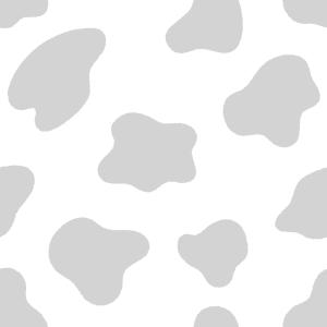 ウシ柄のフリーイラスト Clip art of cow-point pattern