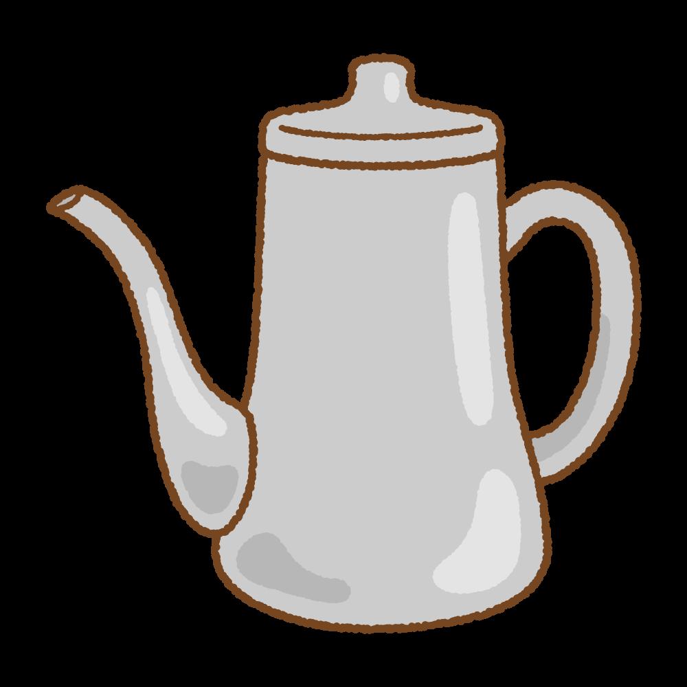 ポットのフリーイラスト Clip art of kettle