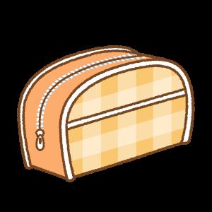 ポーチのフリーイラスト Clip art of pouch