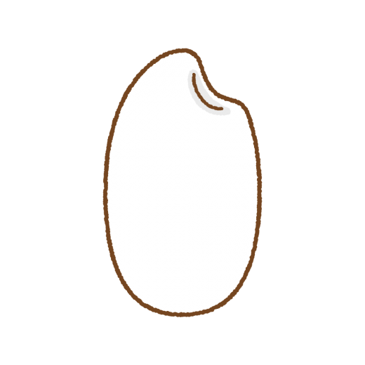 米粒のイラスト