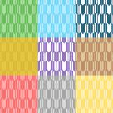 矢絣柄のパターンのイラスト