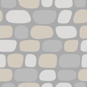石畳のフリーイラスト Clip art of cobblestone
