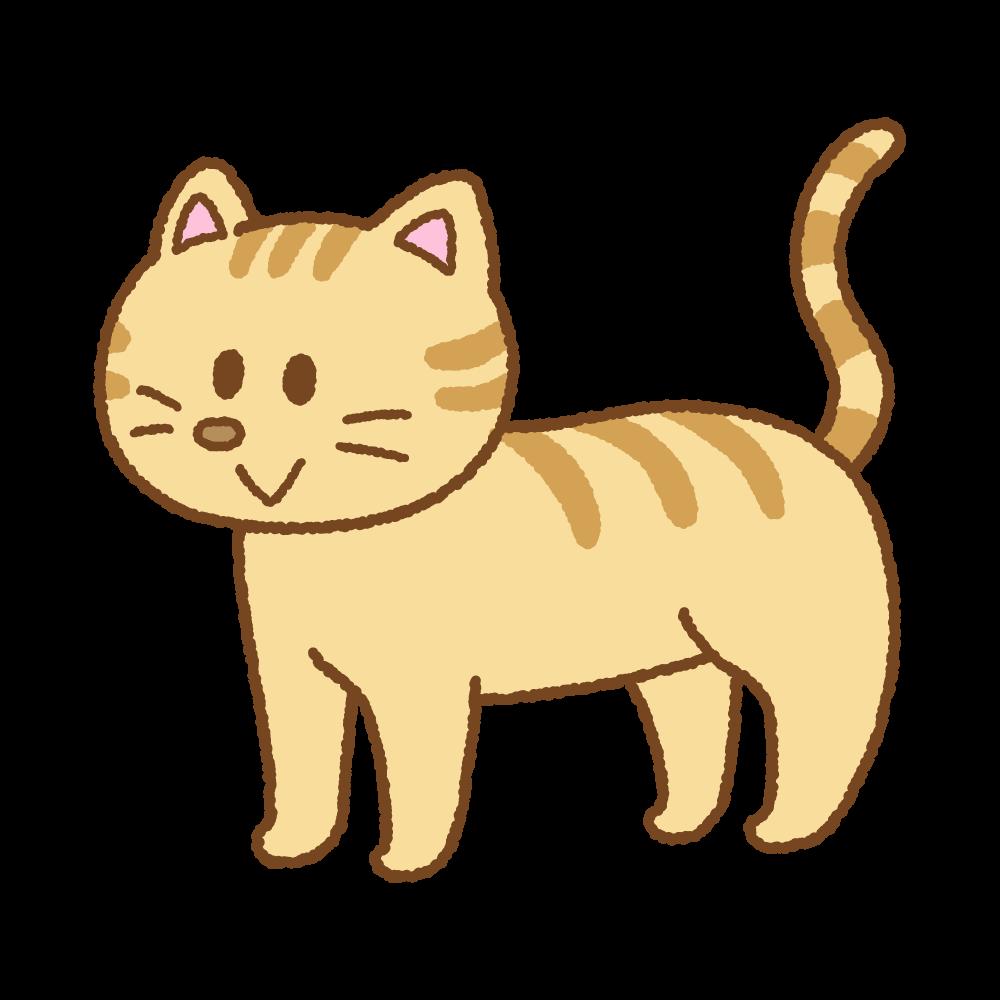 ネコのフリーイラスト Clip art of cat