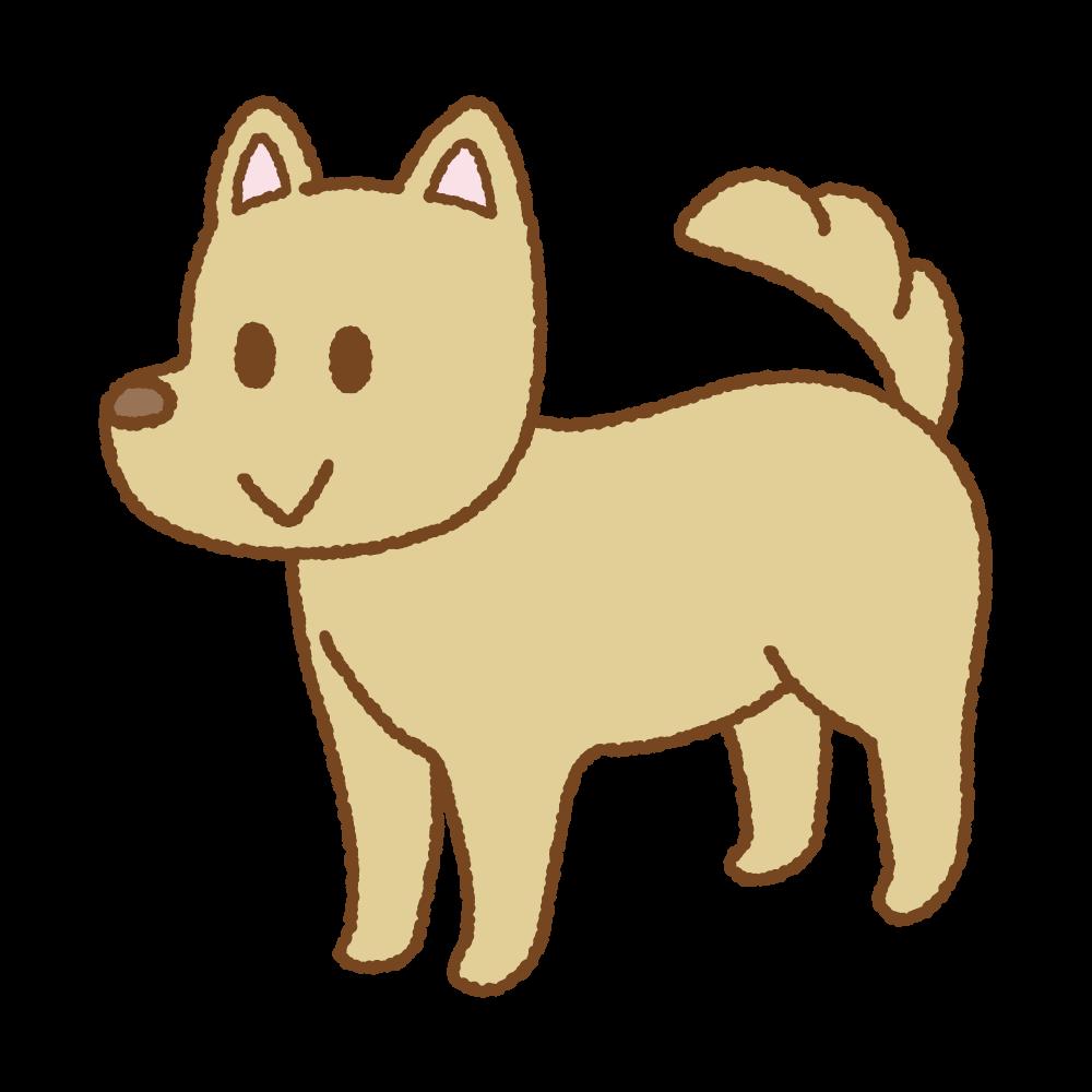イヌのフリーイラスト Clip art of dog