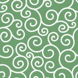 唐草文様のパターンのフリーイラスト Clip art of karakusa patten