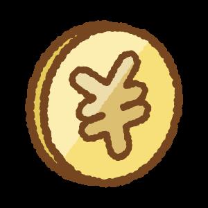 コインのフリーイラスト Clip art of coin