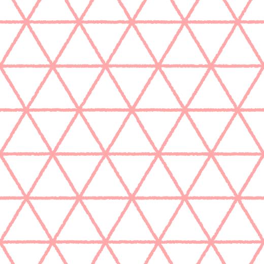 線の鱗文様のパターンのイラスト