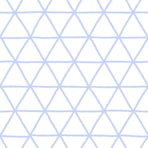 ラフな線の鱗文様のパターンのイラスト