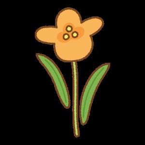 花のフリーイラスト Clip art of flower