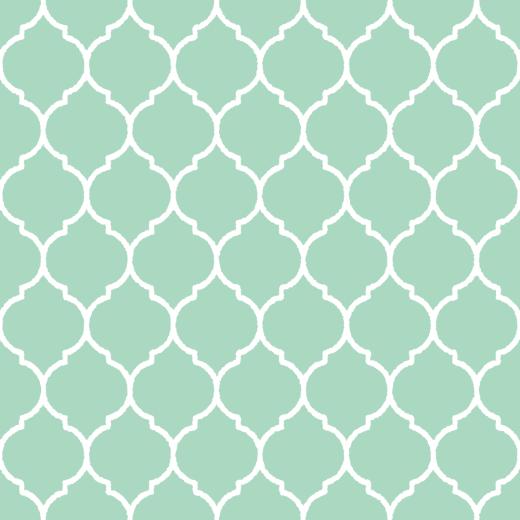 モロッカン柄のパターンのイラスト