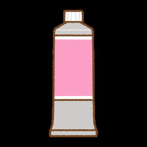 絵の具のフリーイラスト Clip art of paints