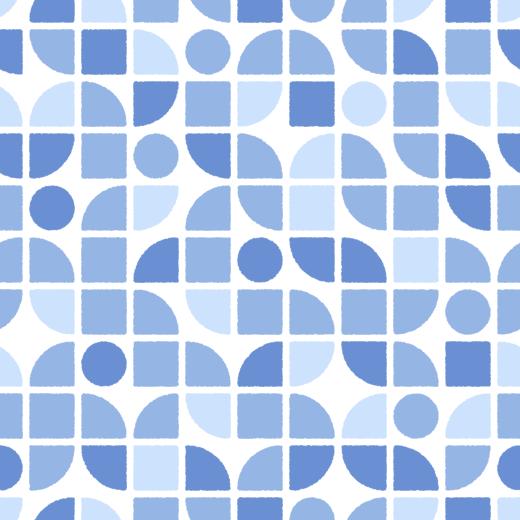 図形のパターンのイラスト