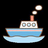 船のフリーイラスト Clip art of ship