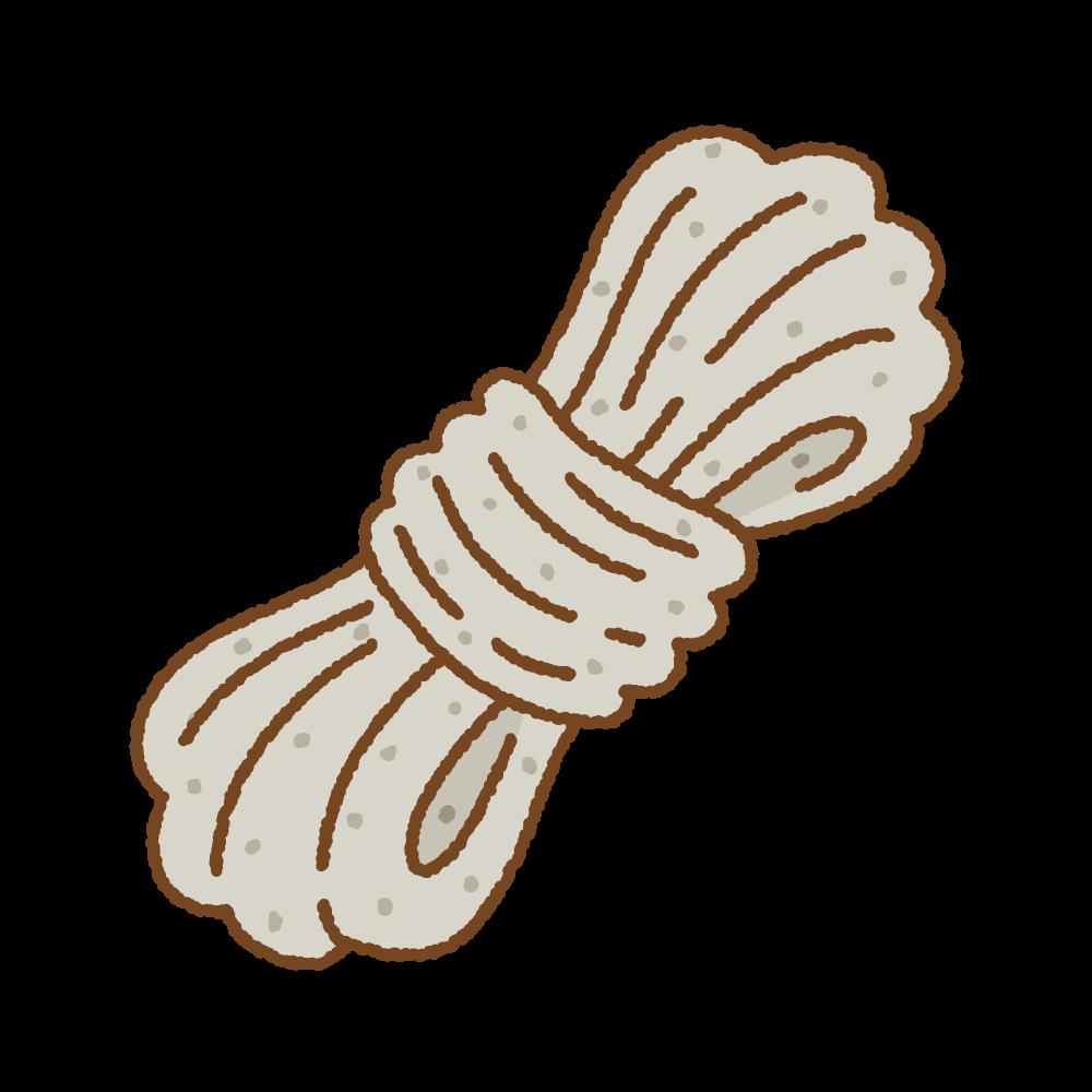 糸こんにゃくのフリーイラスト Clip art of ito-konnyaku