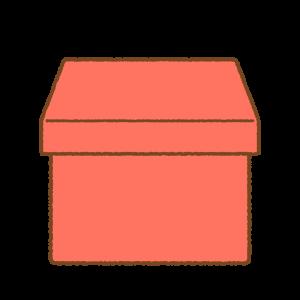 プレゼントボックスのフリーイラスト Clip art of present-box