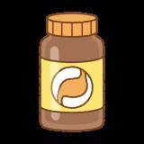胃薬のイラスト