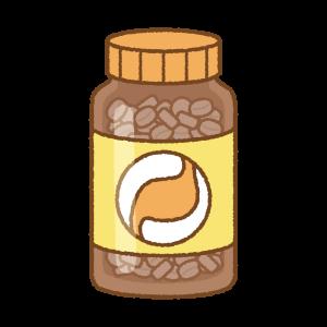 胃薬のフリーイラスト Clip art of stomach-medicine