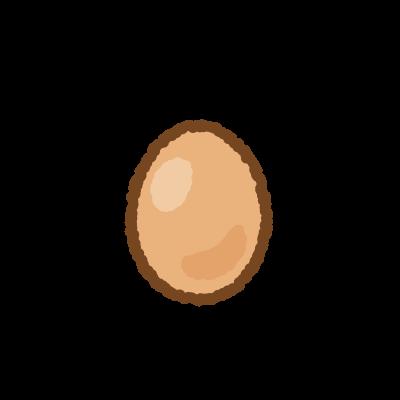 卵のフリーイラスト Clip art of egg
