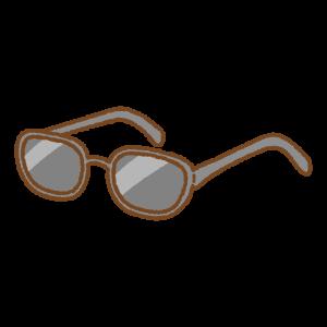 サングラスのフリーイラスト Clip art of sunglasses