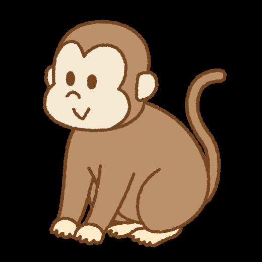 サルのイラスト