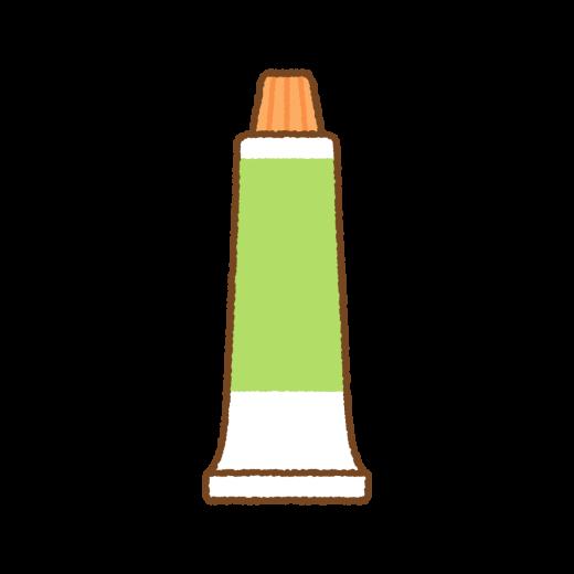 塗り薬のイラスト