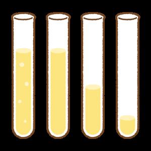 試験管のフリーイラスト Clip art of test-tube