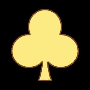 クラブマークのフリーイラスト Clip art of club-mark